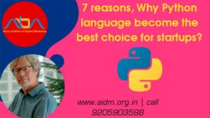 7 reasons, Why Python language become the best choice for startups?